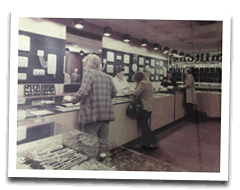 1970s inside miltons shop
