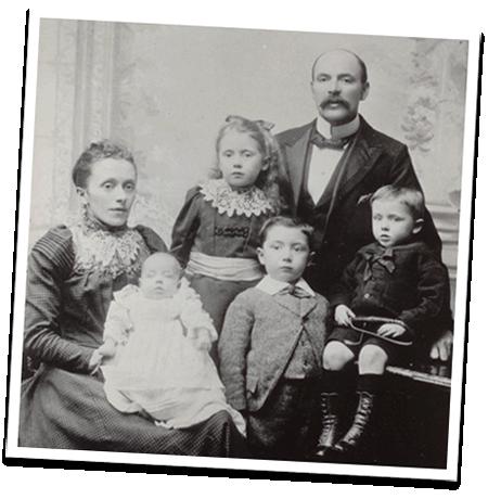 Miltons Family Portrait circa 1910